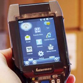 เครื่องอ่านบาร์โค้ด CK3 Mobile Computer