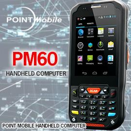 เครื่องอ่านบาร์โค้ดมือถือ Point Mobile PM60 Mobile Computer