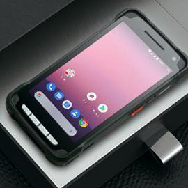 เครื่องอ่านบาร์โค้ดมือถือ Point Mobile PM90 Handheld Computer