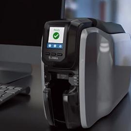เครื่องพิมพ์บัตร Zebra ZC300 Card Printer