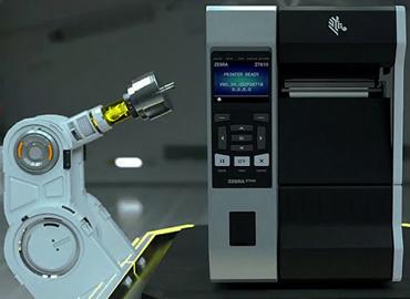 เครื่องพิมพ์บาร์โค้ด Zebra ZT610 Series